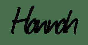 Signature hannah journal